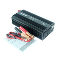 Wholesale Home Power Inverter - Wholesale- New 2000W Power Inverter Car Vehicle Voltage 4.2A USB DC12V To AC 220V 110V Power Converter Adapter For Travel Home Factory