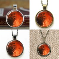 space earrings - 10pcs Planet Mars Astronomy Outer Space Planet Necklace keyring bookmark cufflink earring bracelet