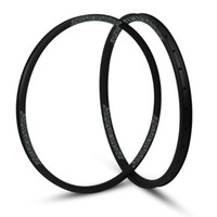 "Wholesale Tubeless Mtb - hulksports Cross Country 28mm Width Carbon Fiber 29"" MTB Clincher Rim Hookless Tubeless Compatible Asymmetric rim"