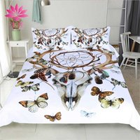 Wholesale Butterfly Comforter Queen Set - muchun Brand Christmas Bedding Sets Claw Butterfly Active Printing And Dyeing 3 pcs Comforter Duvet Cover Home Textiles