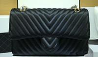 Wholesale Leather Skin Lady - Free Shipping!Fashion Brand Skin Cow Skin Ball Pattern V Shape Women Shopping Bag Handbag Shoulder Bags 1112V