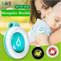 Wholesale Control Mosquitoes - Anti-mosquito Button Cute Cartoon Mosquito Repellent Clip Adults Kids Summer Non-toxic Mosquito Repellent Buckle Pest Control via DHL