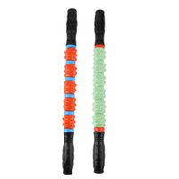 """Wholesale Gym Stick - Wholesale-2016 New 20"""" GYM Exercise Roller Leg Body Arm Back Shoulder Muscle Massager Stick Hot Selling"""