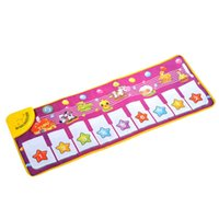 Wholesale Musical Gym - Wholesale- Niosung Modern Musical Music Touch Play Singing Gym Carpet Mat Child Toy Baby KidsGift