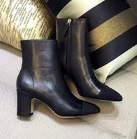 botas de gama alta al por mayor-Top diseñador de gama alta personalización de lujo de moda de cuero elegante y cómodo y cómodo original de una sola calidad Martin Boots