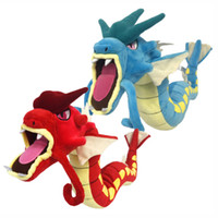 Wholesale hot anime toys for sale - Group buy Hot New Styles quot CM Blue Red Gyarados Plush Doll Anime Collectible Dolls Stuffed Party Gifts Soft Toys