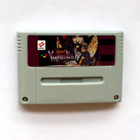 Wholesale Big Bite - New Brand Castlevania Vampire Kiss 16 bit Big Gray Super Game Card For PAL Game Player