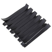 Wholesale Duck Metal Clips - 50pcs Black Duck Mouth Hairdressing Clips Salon Flat Metal Hair Styling Section Clip Accessories Hair Cutting Hair Clamps Tools