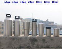 Wholesale Tins Wholesale Cars - Newest 12 oz Stainless Steel Mug Tumbler Coolers Cars Beer Mug Insulated 12oz Cups Tin can