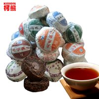 Wholesale Cooking Top - C-PE042 China Top-Grade 10 Pcs Different Flavors Tea xRaw and Cooked Pu'Er Tea,Yunnan Puer tea Slimming Mini Pu'erh Tuocha