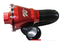 filtro de ar vermelho venda por atacado-Frete Grátis Sistema de Admissão Fechada Filtro de Admissão de Ar Azul vermelho prata preto top venda frete grátis Para KN APOLLO não genuíno