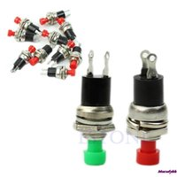 Wholesale Wholesale Micro Switch - Wholesale-Drop shipping 10pcs lot Momentary On Off Push Button Micro Switch New