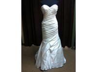 imagens de vestidos drapeados venda por atacado-100% Real Imagem Querida Ruched Drapeado Apliques Beads Cristais De Noiva Vestido Custom Made COR-282 Vestidos de Casamento