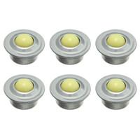 Wholesale ball units - Nudge 6pcs CY-15H 5 8-inch Nylon Roller Ball Flange Conveyor Transfer Unit