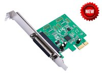 Stampante PCIE DB25 Porta parallela LPT a PCI-E Scheda PCI Express Adapter Converter AX99100 Chipset Win8 Win10 Android IEEE 1284