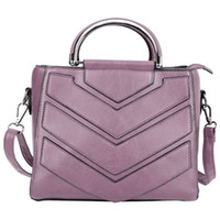 Wholesale Women Fashionable Black Bags - Fashionable Trendy PU Leather Zipper Type Pure Color Women Bag