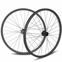 Wholesale Mtb Wheelset 29er - 29er carbon asymmetric mtb wheelset 33 width carbon wheels 15*100 12*142 Sram 11