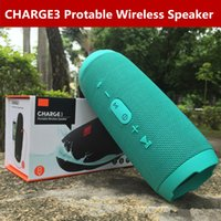 Wholesale Wholes Speakers - Bluetooth Speakers CHARGE3 Portable Outdoor Subwoofer Amplifier Deep Bass Big Sound Bluetooth Mini Speaker Tube Amp Charge 3 Whole In Stock