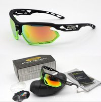 Wholesale Rudy Lens - The New Polarized Brand Rudy 3 Lenses Sunglasses For Men Women Racing Sport Cycling Glasses Mountain Bike Goggles Interchangeable Eyewear