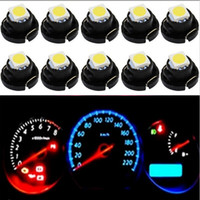 10pcs / Lot NW6 T4.2 2SMD LED blanco azul hielo rojo amarillo luces instrumentos panel Dashboard Cluster Gauges Led bombillas