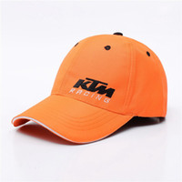Wholesale adjustable riding hat for sale - Latest Motor GP KTM Racing Snapback Caps Motocross Riding Caps Women Men Casual Adjustable Hat Baseball Cap Motorcycle Cap