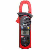 Wholesale Current Voltage Diode - Freeshipping Digital Clamp Meter Voltage AC DC Temperature Capacitor 600A Current Diode Auto Range Multimeter
