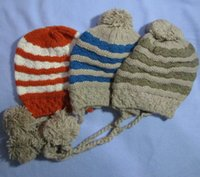 Wholesale Sun Hat Bulk - Cheap fashion knitted cotton winter hat caps beanies bulk sale winter warm hat with pom pom