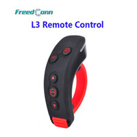 Wholesale Remote Control T Rex - Wholesale- L3 PTT Handbar BT Remote Control Bluetooth Motorcycle Helmet Intercom Headset For L1, L2, COLO-RC, T-REX Motorbike Intercom