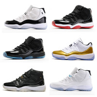 "Wholesale Cycle Photos - Photos Endorsed Newest Color Retro 11 Space Jam Basketball Shoes Women & Men High Quality 11s Sport Shoes With Number ""45"" Athletic Sneakers"
