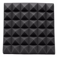 Wholesale foam sponges - Newest Fireproof Studio Acoustic Soundproof Foam High Density 30*30*5cm Sound Absorption Treatment Panel Tile Wedge Protective Sponge
