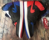 Wholesale Mens High Top Tennis Shoes - New Air Top 3 Retro 1 High Mens Basketball shoes 1s outdoor athletic sneaker Tennis Trainer Come in box SIZE 9 & 10.5