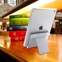 Wholesale E Reader Stand - Multi-Angle Aluminum Stand for Tablets, e-readers and Smartphones, Compatible with iPhone, iPad, Samsung Galaxy   Tab, Google Nexus, HTC, LG