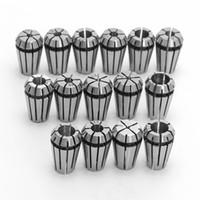 Wholesale Lathes Milling Machines - Precision 15PCS ER11 Spring Collet Set For CNC Engraving Machine & Milling Lathe Tool DIY