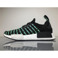 Wholesale Outdoor Table Runners - Originals NMDs Runner OFF White X NMD Men Running Shoes Luminous Black White BA6520 Real Boost Athletic Sneakers Outdoor Shoes