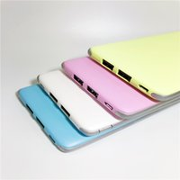 A-34 Cheap Cell Phone Accessories 2017 China Factory Cheap Ultra Thin Mobile Power Bank 10000 mAh 2usb Carregador Business heap china phones