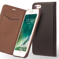 Wholesale Design For Phone - Ultra slim High Quality case 2p for iphone 7 plus design flip phone cover for iphone 7 real genuine leather
