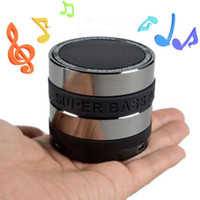 Wholesale Portable Mobile Pc Mini Speaker - Bluetooth Wireless Speaker Mini Portable Super Bass Music Box For Smartphone iPhone 7 Laptop Tablet MP3 PC