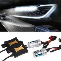 55W 8000K Xenon H7 HID Kit Car Auto Headlight Bulb Slim Ballast Slim Kit étanche Bright Universal