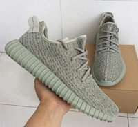 Wholesale Trainer Shoes Wholesale - 2016 NEW BOOST 350 AQ2660 SHOES SNEAKERS,FASHION MOONROCK PIRATE BLACK KANYE WEST ATHLETIC SPORTS RUNNING SHOES TRAINERS