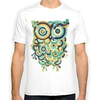 Wholesale Hoot Shirts - Hoot New Fashion Man T-Shirt Cotton O Neck Mens Short Sleeve Mens tshirt Male Tops Tees Wholesale
