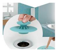Wholesale Rubber Sink - New 1PC Potable Drain Stop Kitchen Sink Stopper Drain Plug Floor Drain Hair Stopper Bath Catcher Sink