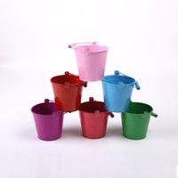 Wholesale Star Sports Wholesale - trumpet Candy Color Small Drum Children Sandy Beach Toys Barrel Gardening Technology Mini- Colour Small Sandy Beach Drum Toys