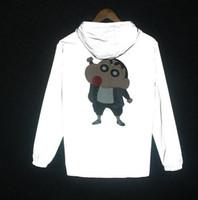 Wholesale Man Chan - New Arrival men jacket 3D Poker 3M Reflective Windbreaker Jacket Men Coat Wind Breaker Waterproof Mens Jackets Shin-chan Coats