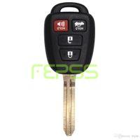 toyota anahtar fob kabuğu değiştirme toptan satış-Toyota 2012-2014 için yeni Yedek Uzaktan Anahtar Kutu Fob Camry Corolla HYQ12BDM HYQ12BEL Anahtar Kabuk