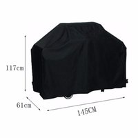 Wholesale Cooking Jacket - protector jacket 145*61*117CM Waterproof BBQ Cover Outdoor Rain Barbecue Grill Protector For Gas Charcoal Barbeque Grill Anti Dust Shield