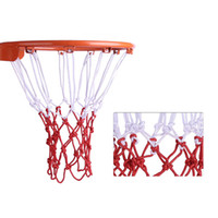 Wholesale Basketball Net Outdoor Sports Training Entertainment Basketball Ring Network Sporting Goods red and white free shopping