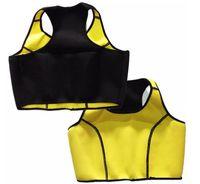 Wholesale Tank Top Shapers Wholesale - 150pcs AAA+ quality Hot Neoprene Sports Bra Slimming Shapers Bra Hot shapers Vest Body Shaper Women sports vests Tops Tanks