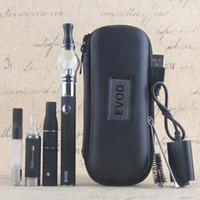 Wholesale ago pen vaporizer - Top eVod 4 In 1 Vaporizer Starter Kits Wee Vape Pens Kit Vape Cartridges MT3 Oil Ago Dry Herb Glass Wax Vapes Kit 510 Evod Batteries