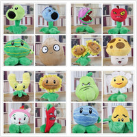 Wholesale Plants Plush - 16 Style 15-17cm Plants Zombies Plush Doll P & Z Stuffed Plants Toy For Child Gifts