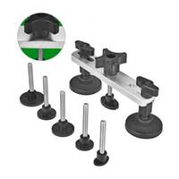 Wholesale Pdr Dent Removal Kit - Super PDR Tools- Paintless Dent Repair Bridge Tool kit Car Dent Repair Tools Pulling Bridge Dent Removal Hand Tool Set +GIFT